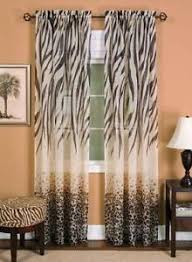 Leopard Print Curtains And Bedding Leopard Curtains Ebay