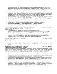 Unix Developer Resume Resume Of Unix Developer