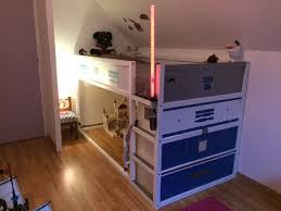 commode chambre bébé ikea un lit kura transformé en lit wars r2d2