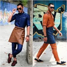 baju kurung moden zaman sekarang baju melayu hipster fesyen raya 2015 yang lagi panas daripada