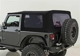 jeep wrangler 2 door hardtop black 2010 2016 jeep wrangler 2 door replacement premium soft top with