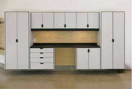 contemporary home organization ideas with garage storage cabinets