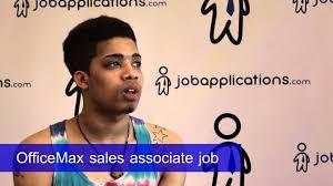 Dillards Sales Associate Job Description Officemax Interview Sales Associate Youtube