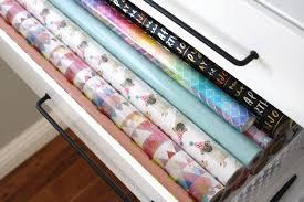Organize Gift Wrap - organized gift wrap shelf u0026 drawers simply organized