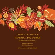 festive fall free printable thanksgiving invitation template