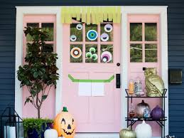 diy door decor that will all on boo hgtv