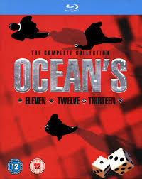 ocean twelve ocean u0027s the complete collection blu ray ocean u0027s eleven ocean u0027s