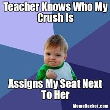 Create My Own Memes - teacher knows who my crush is create your own meme