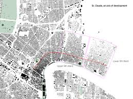 New Orleans 9th Ward Map by