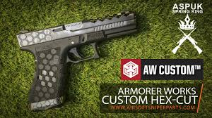 armorer works custom hex aw vx0100 youtube