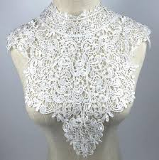 lace collar necklace images 5pcs white lace collar necklaces accessories diy jewelry retro jpg