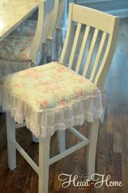 Shabby Chic Cushions by Shabby Chic Chair Cushions U0026 Painted Bar Stools All Things