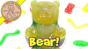 giant gummy bear candy maker i go gummy crazy youtube