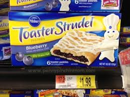 Toaster Strudel Designs Pillsbury Toaster Strudel As Low As 1 48 At Walmart