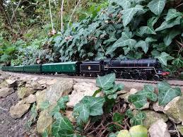 g scale garden railway layouts dorking garden railway videos in 00 scale my garden railway