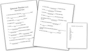 free grammar worksheets homeschool den