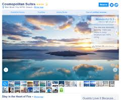 Map Of Santorini Greece by Where To Stay In Santorini In 2018 A Guide To The 5 Best Areas