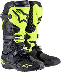 blue dirt bike boots the best keep getting better tech 10 boots dennis kirk