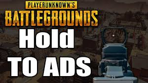 pubg hold to aim pubg how to setup hold to aim down sights youtube