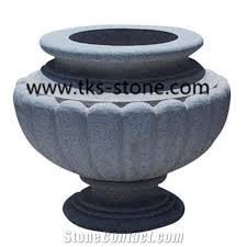flower pots planter pots granite pots garden flower pot round
