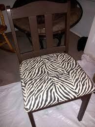 Zebra Dining Chairs Zebra Print Dining Chairs Door Decorations