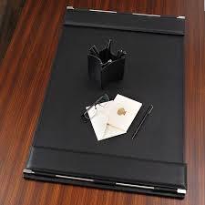 Black Leather Desk Mat Leather Desk Pads Desk Writing Pad Leather Desk Pad Desk
