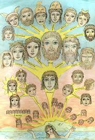 greek gods family tree greek myths gods and stories