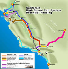 california map project california high speed rail