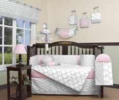 Pink Chevron Crib Bedding Geenny Chevron 13 Crib Bedding Set Reviews Wayfair