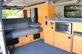 Conversion Van Interiors Sportsmobile U0027s Ford Transit Van Conversion