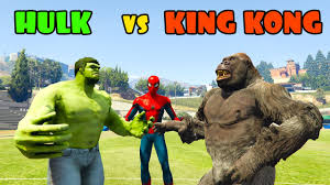 hulk king kong funny superhero contest cartoon kids