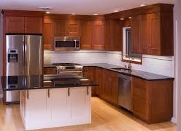 Tropical Kitchen Design by Black Table Top Kitchen Cabinet Imanada Cabinets L Shaped With