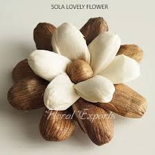 wood flowers manufacturer exporters bulk suppliers of sola flowers wood flowers