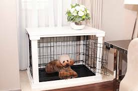 Wooden Crate Nightstand Amazon Com Zoovilla Small White Cage With Crate Cover Pet Supplies