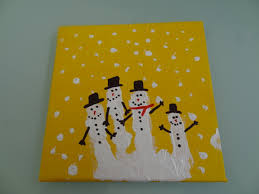 christmas craft handprint snowman family there was a crooked house