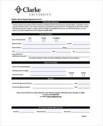 sample vendor direct deposit forms 7 free documents in word pdf