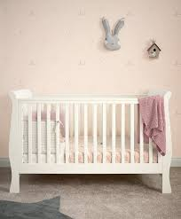 Sleigh Cot Bed Sleigh Convertible Cot Ivory Mamas Papas Ie
