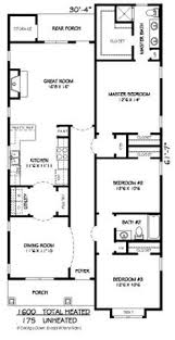 Craftsman Style Homes Floor Plans Narrow Lot House Plan 2080 Sq Ft 3 Bedrooms And 2 5 Bathrooms