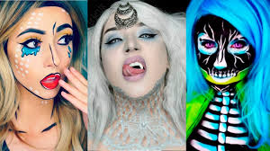 Halloween Makeup Me by Top 17 Diy Halloween Makeup Tutorials Compilation 2016 Youtube