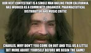 Single Man Meme - our next contestant is a single man hailing from california has