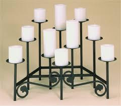 decorating wonderful floral design of fireplace candelabra made