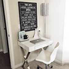 Small Desk White Small White Desk From Wayfair Black And White Decor How To
