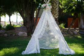 lacey teepee lace kids teepee girls tipi play tent wigwam or