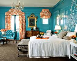Turquoise Bedroom Decor Ideas by Turquoise Wall Bedroom Homes Zone