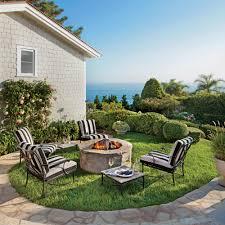 15 outdoor fireplace design ideas coastal living