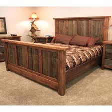 rustic bed frame no headboard best frames ideas on u2013 home design