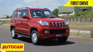 police jeep kerala mahindra tuv300 first drive autocar india youtube