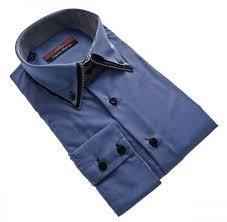 design hemd designer herren hemd klassischer 3 kragen 2 knopf herrenhemd slim