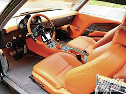 orange bentley interior 1970 chevrolet chevelle ss interior photo 6 custom dash and