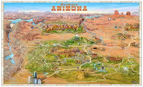 Az City Map Location Of El Portal And Sedona Maps